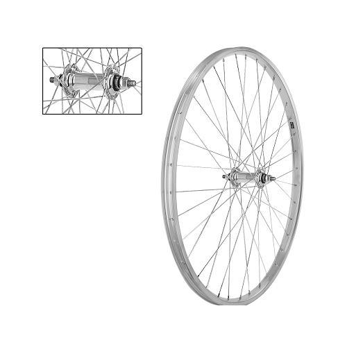 roue avant 26 pouces pour v lo vtt jante et moyeu alu axe. Black Bedroom Furniture Sets. Home Design Ideas