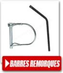 Barres de remorquage pour vélo