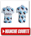 Maillot Manche Courte pour cycliste