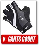 Gants court vélo / Mitaines pour cycliste