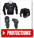 Protections du cycliste