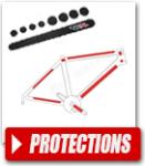 Protections cadre du vélo