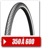 Pneus vélo de Ville 350 à 600