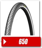 Pneus vélo de Ville 650