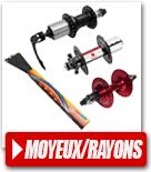Moyeux vélo / Rayons de roue vélo