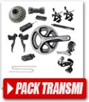 Pack transmission / freinage vélo