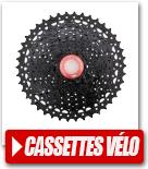 Cassettes vélo