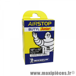 Chambre à air Michelin AirStop Junior 10 à 12 pouces valve Presta K4 40mm 75g