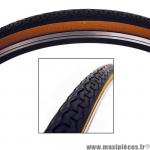 Pneu de vélo city 650x35b world tour beige/noir tr (26,5x1,40) (35-584) marque Michelin - Pièce Vélo