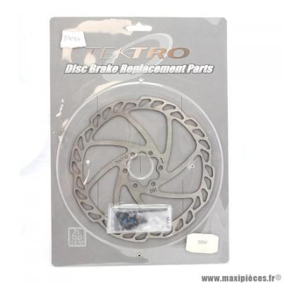 Disque frein auriga comp/pro diamètre 180mm marque Tektro - Matériel pour Vélo
