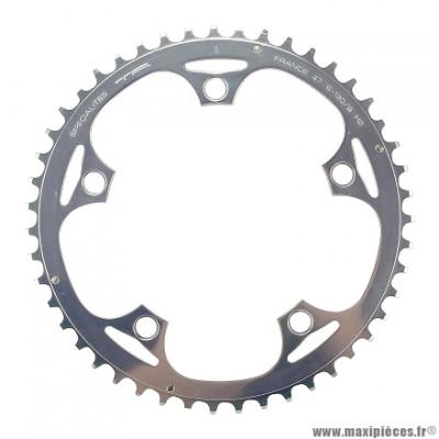 Plateau 47 dents 300/sh.zicr. d.130 marque Stronglight - Pièce vélo