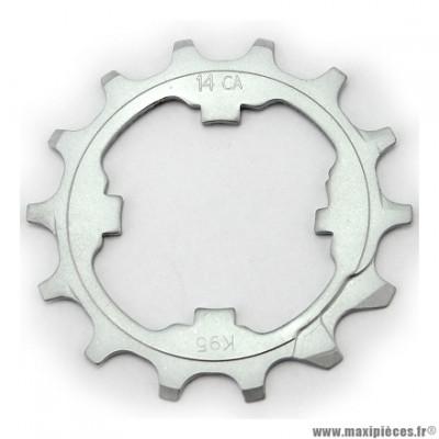 Pignon intermédiaire 14 dents compatible campagnolo 11 vitesses marque Miche - Pièce vélo