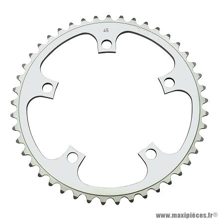 Plateau 45 dents dural str.d=122 marque Stronglight - Pièce vélo