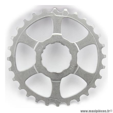 Pignon dernière position 28 dents compatible shimano 11 vitesses marque Miche - Pièce vélo