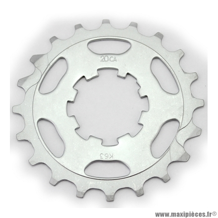 Pignon intermédiaire 20 dents compatible campagnolo 11 vitesses marque Miche - Pièce vélo