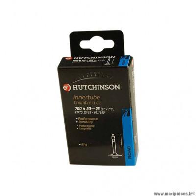 Chambre à air de route 700x20/25 vp valve 48mm marque Hutchinson
