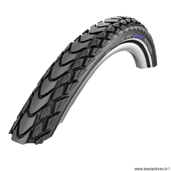 Pneu de vélo pour VTC 700x28 tr marathon kevlar noir (28-622) marque Schwalbe