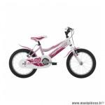 Vélo pour enfant 16 ariel acier fille rose marque Jumpertrek - Vélo - Vélo pour enfant complet