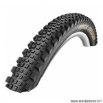Pneu de VTT 27.5x2.35 rock razor tubeless/tubetype noir ts (60-584) (650b) marque Schwalbe - Pièce Vélo