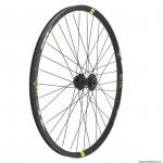 Roue vélo avant wolfbike 27.5 linktrophy disque couleur jaune