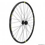 Roue vélo avant wolfbike 29 linktrophy disque couleur jaune