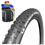 Pneu 27.5x2.25 marque Michelin force xc performance line tubeless ready tringle souple (57-584)