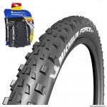 Pneu 26x2.25 marque Michelin force am performance line tubeless ready e-bike ready tringle souple (54-559)