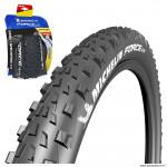 Pneu 27.5x2.60 marque Michelin force am performance line tubeless ready e-bike ready tringle souple (57-584)