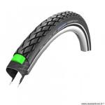 Pneu VTC 700x35 tringle rigide marque Schwalbe marathon couleur noir (37-622) vae/e-bike ready 50