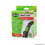 Chambre à air VTT 27.5x1.95/2.125 valve schrader marque Slime avec liquide anti-crevaison