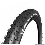 Pneu VTT 27.5x2.35 tringle souple marque Michelin force am competition line tubeless ready couleur noir (58-584)