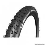 Pneu VTT 29x2.35 tringle souple marque Michelin force am competition line tubeless ready couleur noir (58-622)