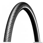 Pneu VTC 700x38 tringle rigide marque Michelin protek flanc réfléchissant couleur noir (40-622)