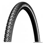 Pneu VTC 700x47 tringle rigide marque Michelin protek cross couleur noir flanc réfléchissant (47-622)