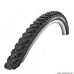 Pneu VTC 700x35 tringle rigide marque Schwalbe marathon gt 365 couleur noir (37-622) vae/e-bike ready 50