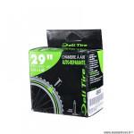 Chambre à air VTT 29x2.10/2.40 valve presta marque Deli Tire avec liquide anti-crevaison
