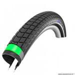 Pneu VTT 27.5x2.00 tringle rigide marque Schwalbe big ben plus couleur noir hs439 (50-584) vae/e-bike ready 50
