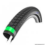 Pneu VTT 26x2.15 tringle rigide marque Schwalbe big ben plus couleur noir (hs439/50-559) vae/e-bike/cargo ready 50