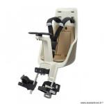 Porte-bébé vélo avant sur tube de direction marque Bobike exclusive mini - safari chic