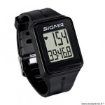 Cardio/montre marque Sigma id.go couleur noir