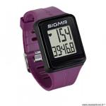 Cardio/montre marque Sigma id.go couleur violet