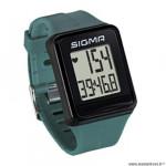 Cardio/montre marque Sigma id.go couleur vert