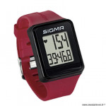 Cardio/mondre marque Sigma id.go couleur rouge