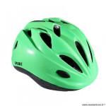 Casque enfant marque Optimiz o-100 taille 52/56 couleur vert mat avec réglage occipital