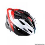 Casque route/VTT marque Optimiz o-300 vision taille 58/61 couleur rouge/blanc/noir mat avec réglage occipital