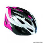Casque route/VTT marque Optimiz o-300 vision taille 55/58 couleur rose/blanc/noir mat avec réglage occipital