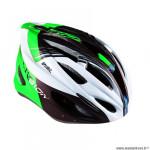 Casque route/VTT marque Optimiz o-300 vision taille 55/58 couleur vert/blanc/noir mat avec réglage occipital