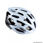 Casque route/VTT marque Optimiz o-310 taille 58/61 couleur blanc mat avec réglage occipital