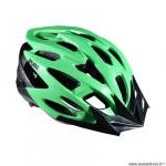 Casque route/VTT marque Optimiz o-310 taille 55/58 couleur vert mat avec réglage occipital