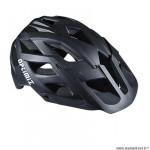 Casque VTT marque Optimiz o-330 taille 55/58 couleur noir mat in-mold avec réglage occipital